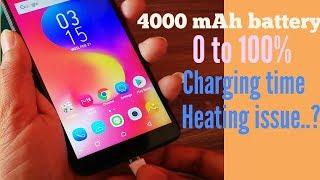 Infinix hot S3 fast charging test