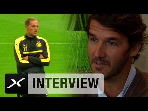 Karl-Heinz Riedle über Thomas Tuchel, Pokalfinale und Pierre-Emerick Aubameyang | Borussia Dortmund