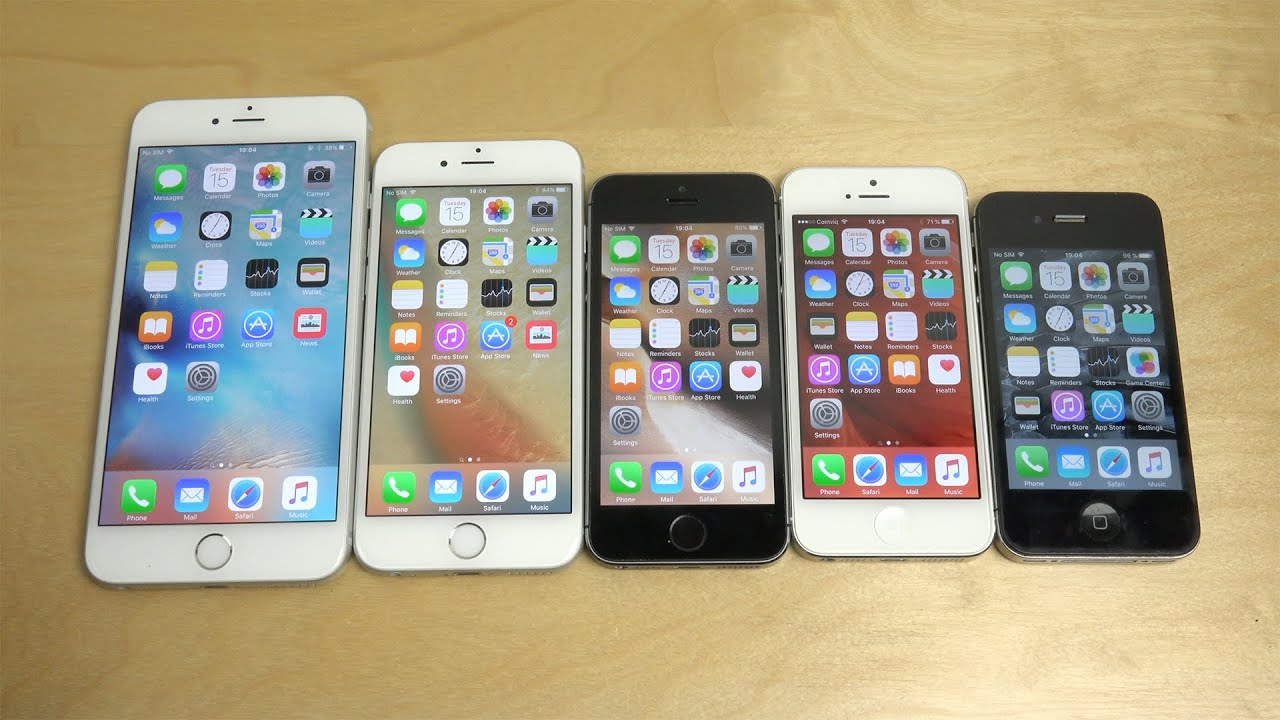 iOS 9.1 Beta: iPhone 6 Plus/6 vs. iPhone 5S vs. iPhone 5 ...