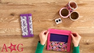 Download lagu DIY Duct Tape School Supplies Case Craft Studio American Girl MP3