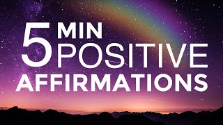 POWERFUL Daily Affirmations And Mantras For POSITIVE Thinking And SUCCESS (528 Hz Miracle Tone)
