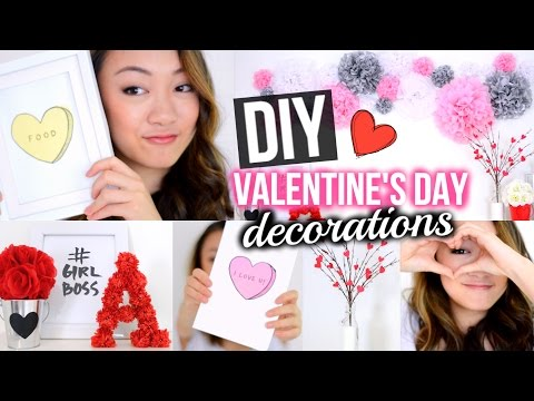 DIY Valentine's Day Room Decorations + Cards!