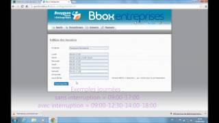 Bbox Entreprises - Le service