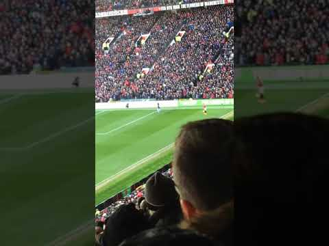 Lingard's winning goal vs Chelsea - Fans view