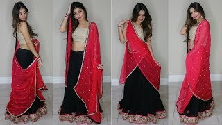 6 Ways To Style Your Dupatta - BeautyBook by Seher
