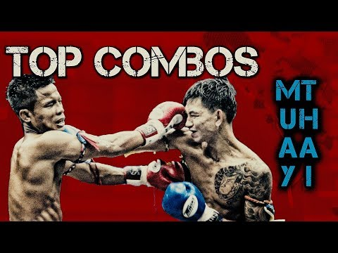 Top 10 Muay Thai Punching Combos | Thai Boxing At Home