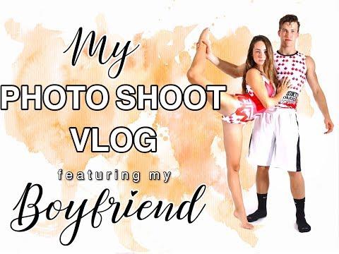 Photoshoot Vlog Featuring My Boyfriend!