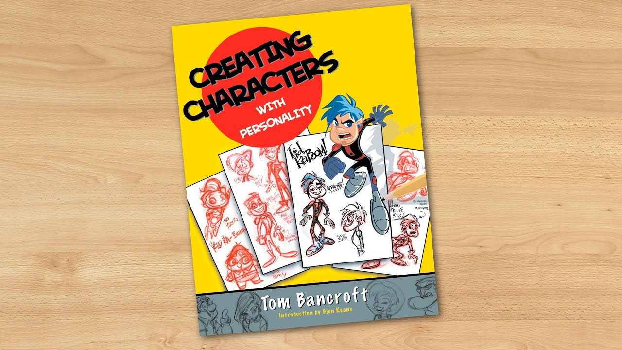 Creative Character Design Pdf Download : Creating characters with personality by tom bancroft youtube