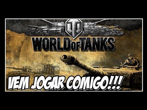 WORLD OF TANKS - Jogue GRÁTIS!!! Bora?!!!