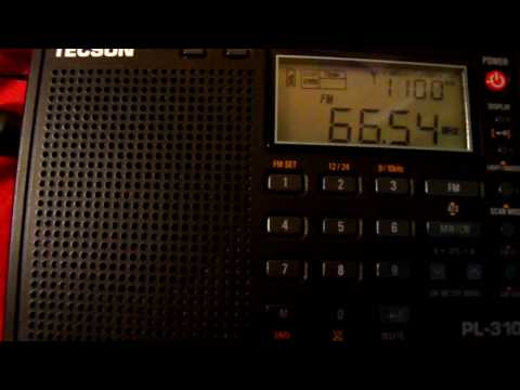 OIRT East European FM reception via Sporadic-E conditions on a Tecsun PL-310