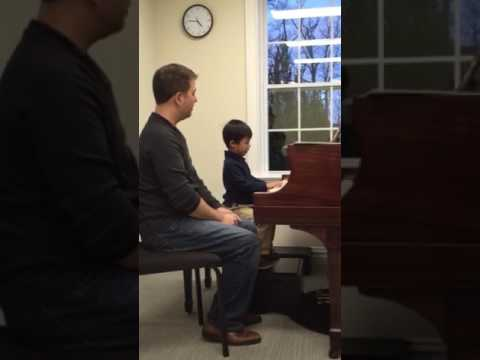 Thomas, piano, 4 years old, NJAOM