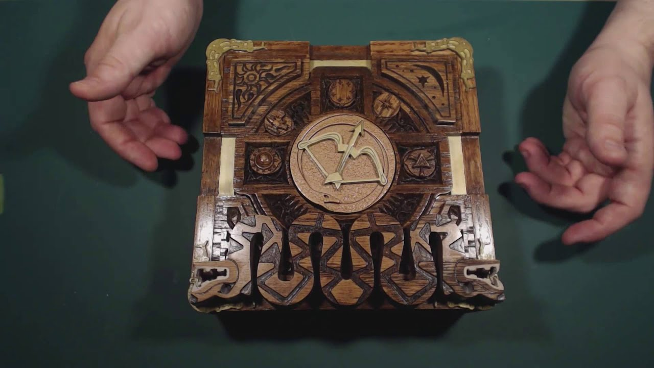 Dd Puzzle Box Youtube
