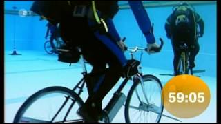 Guinness World Record - underwater cycling