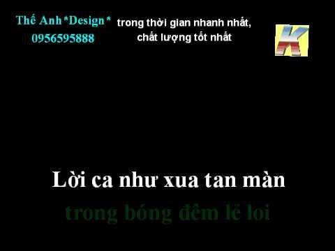 NGUOI HAT RONG - THUY TRIEU DO - karaoke beat (demo).avi