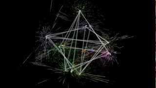 MERKABA (Star Tetrahedron) 21/34 Spin (Fibonacci Sequence). Sacred Geometry~ Meditation, Harmony