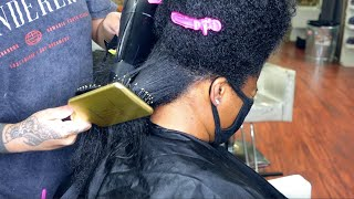 Transitioning Client | Healthy Hair