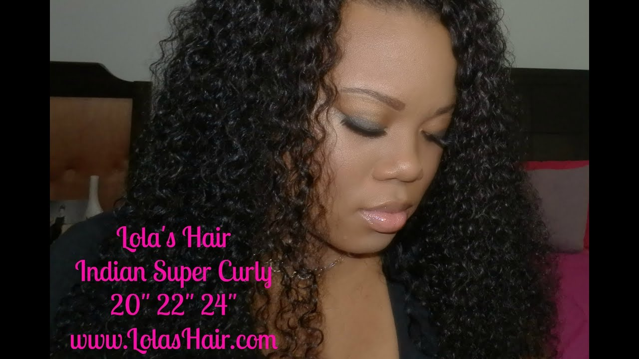 lolas hair extensions indian super curly hair review youtube pmusecretfo Choice Image