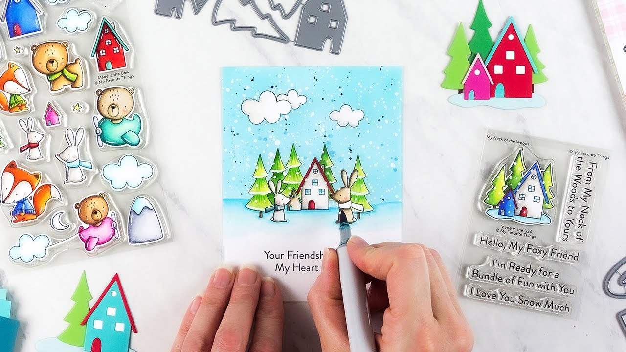 Order Your Fox & Friends Card Kit Now! – MFT Stamps
