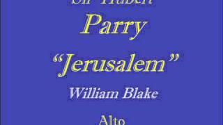 Jerusalem-Parry - Alto.wmv