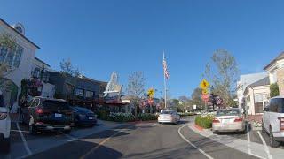 Home of Celebrities - Palisades Village 4K - 4K Driving - California - USA