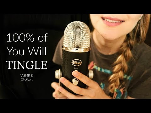 100% of You Will Tingle to This ASMR Whisper Video