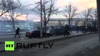 Greece: Olympiakos/PAOK fans clash ahead of game