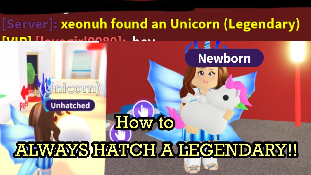 How To Get A Legendary Pet In Adopt Me Every Time