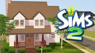 UNIVERSITY STARTER HOME // The Sims 2: House Building