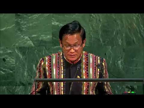 Myanmar - Henry Van Thio, Vice President Addresses General Debate, 72nd Session1
