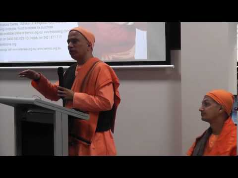 'Positive Living: A Holistic Approach' - Swami Tyagananda