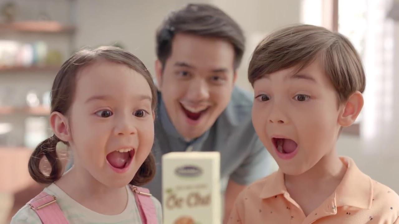 Quảng cáo Vinamilk   Sữa Đậu Nành Hạt Óc Chó Vinamilk 3 TỐT   Giàu dinh dưỡng, ngon khó cưỡng   YouT