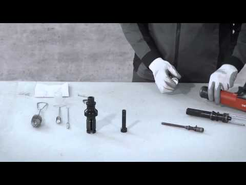 Hilti - How to clean your Hilti DX 36 (English)