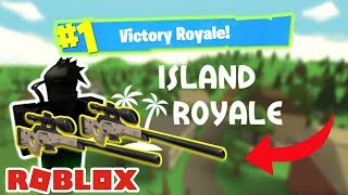 FORTNITE IN ROBLOX?!? - SOLO FULL UNCUT GAMEPLAY | Island Royale | (Roblox)