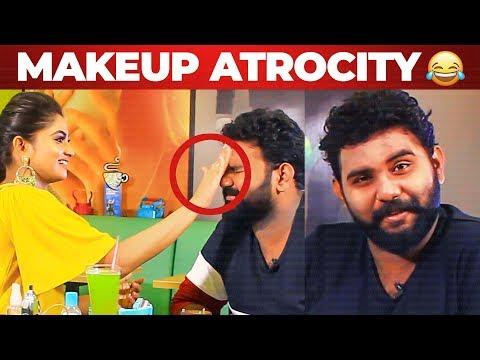 LOL: Shivani's Funny Make Up Attempt to VJ Ashiq | What's Inside the HANDBAG