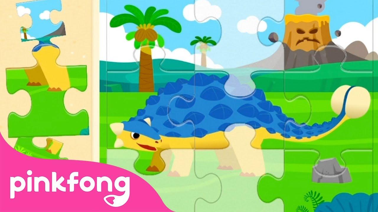 Пинкфонг Мир Динозавров  | Поиск КУПОНА в видео | Пинкфонг! Приложение для Детей
