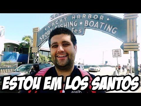 GTA V NA VIDA REAL, PIER DE SANTA MONICA