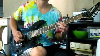 """In Flames, """"A New Dawn"""" Guitar cover"""