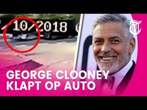 George Clooney in ziekenhuis na auto-ongeluk