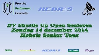 BV Shuttle Up 2014 Open Senioren | Hebris Senior Tour