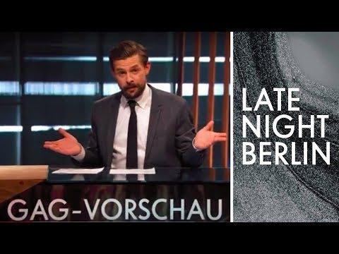 Angela Merkel und die Bieber   Gag-Vorschau   Late Night Berlin   ProSieben