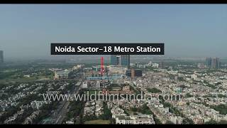 Noida Sector 18, Botanical Garden, Golf Course Metro Stations