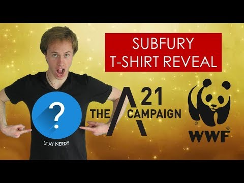 Download Youtube: Subfury T-shirt REVEAL + supporting charity! [Protect animals/stop slavery]