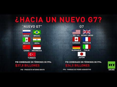 ¿Hacia Un 'nuevo G7' Más Poderoso Con Brasil, México, Rusia Y China?