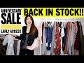 HUGE NORDSTROM ANNIVERSARY SALE PART 1 | BACK IN STOCK 😍 | CHARIS ❤️