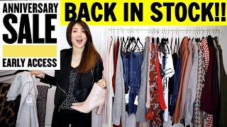 HUGE NORDSTROM ANNIVERSARY SALE PART 1   BACK IN STOCK 😍   CHARIS ❤️