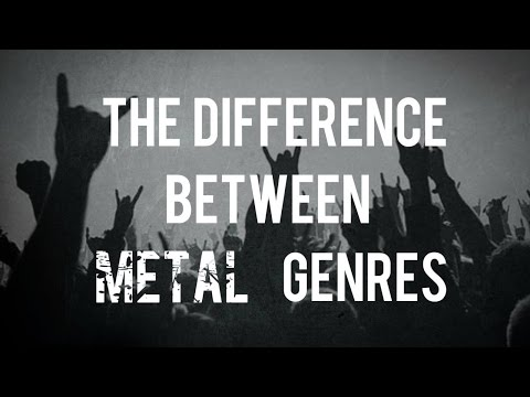 What's The Difference Between Metal Genres?