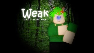 Weak By AJR I ROBLOX MUSIC VIDEO SHORT I SPEEDYROBLOX X