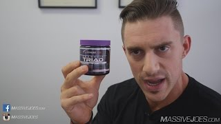 Platinum Labs Anabolic Triad FOLLOW UP! Testosterone Booster Supplement | MassiveJoes.com Raw Review thumbnail