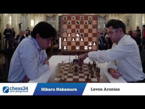 Nakamura vs. Aronian - Zürich Chess Challenge 2014 - Blitz Tournament