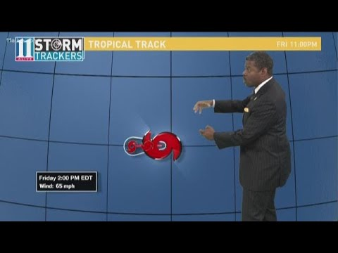 Models show Hurricane Florence heading for East Coast